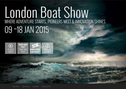 2015 CWM FX London Boat Show