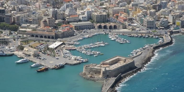 Heraklion Port - Sailing