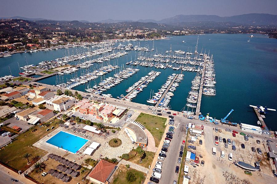 Gouvia Marina in Corfu - Greece | Sailbooking.gr