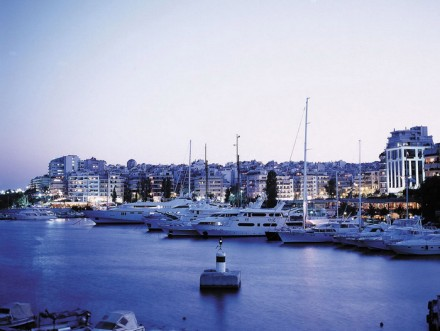 Marina Zeas in Piraeus