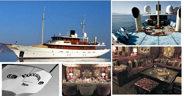 Johny Depp Yacht